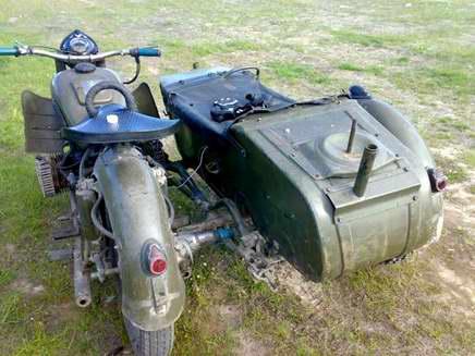 Мотоцикла bmw r71 в 1941 году на мотоцикл