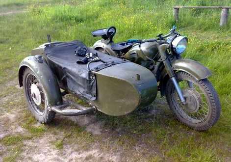 Постоянноусовершенствовали мотоцикл